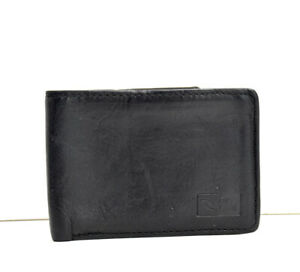 Rip-Curl-Mens-Bifold-Leather-Card-Wallet-Holder-Black