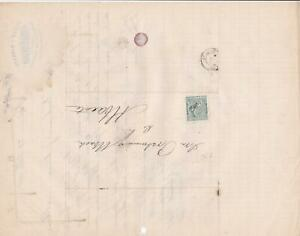 Spain 19th centuary stamps cover Ref 8287