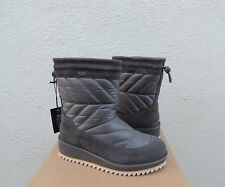43bfd2a5553 UGG Ambra 1003354 Charcoal Gray Waterproof Winter BOOTS 8.0 B Retail ...