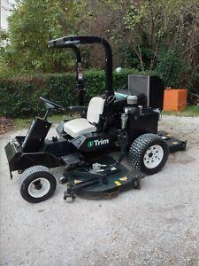 Trattorino Tagliaerba Rasaerba Professionale National Mower I-TRIM Turbo 34 HP