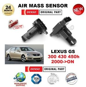 FOR-LEXUS-GS-300-430-450h-2000-ON-DENSO-AIR-MASS-SENSOR-5-PIN-without-HOUSING