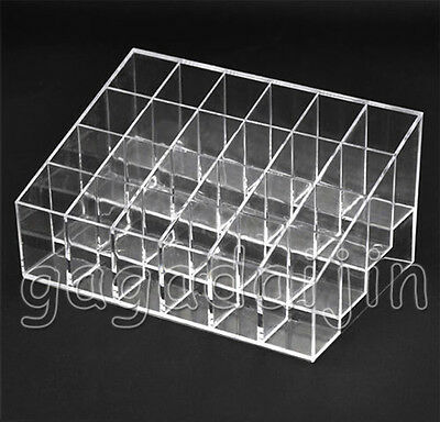 New Cosmetic Makeup Lipstick Rack Stand Organizer Holder Display Case Storage