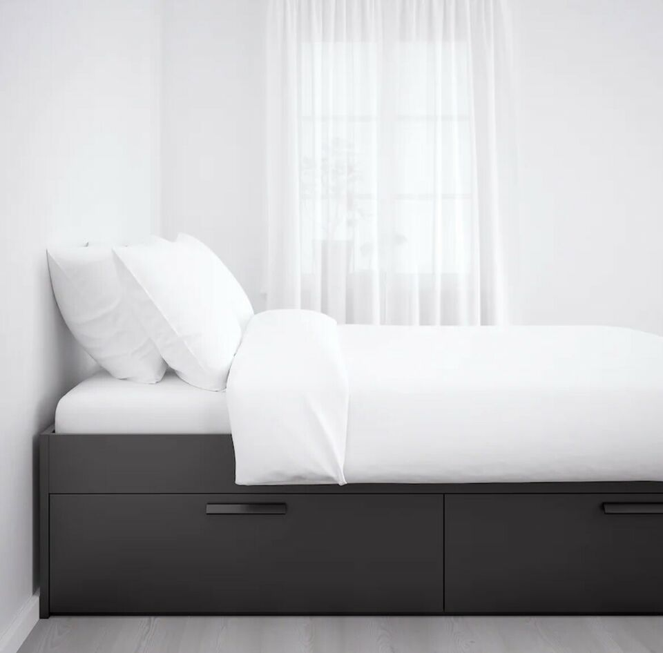 3/4 seng, Ikea, b: 140 l: 200