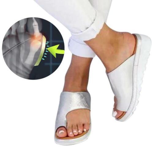 Women Summer Platform Sandals Soft Toe Ring Slipper Beach Flip Flops Shoes Lot