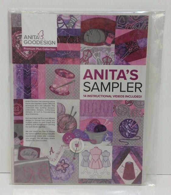 ANITA GOODESIGN Premium Plus Collection Anita/'s Sampler NEW SEALED