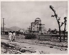 hiroshima  japan   10 years on  4-8- 1955  vintage   press photograph