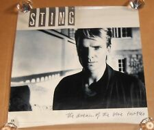 Sting The Dream of the Blue Turtles Poster Original 1985 Promo 24x24 Police