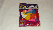 25 BALLOONS HAPPY BIRTHDAY PRINTED BALOONS