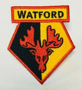 Watford-FC-patch-iron-on-sew-on-crest-hats-scarfs-bags