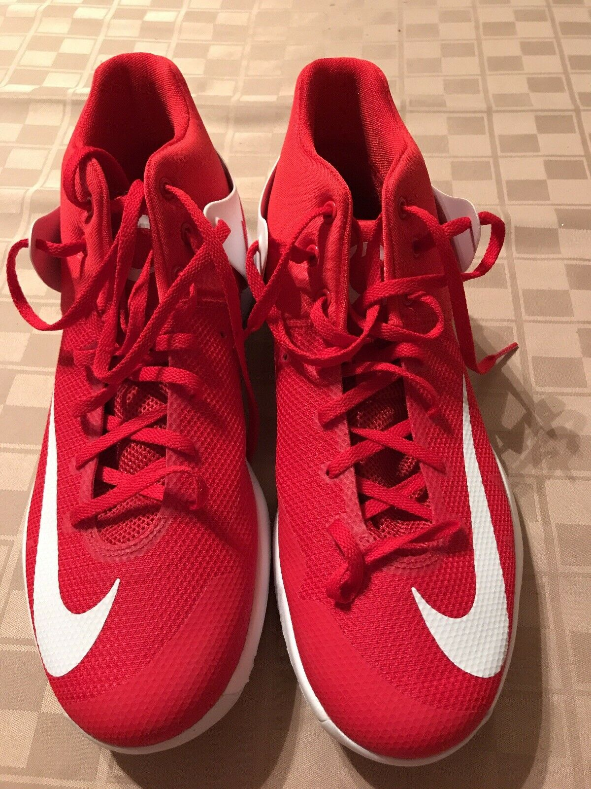 Nike kd trey 5 iv rosso kevin durant scarpe da basket di 10 844590-610 dimensioni