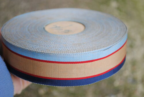 WW2 Australian service medal ribbon original silk tailor stock