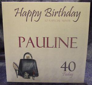 Personalised-Birthday-Card-Handbag-Lipstick-Shoe-18th-21st-30th-40th-50th-60th