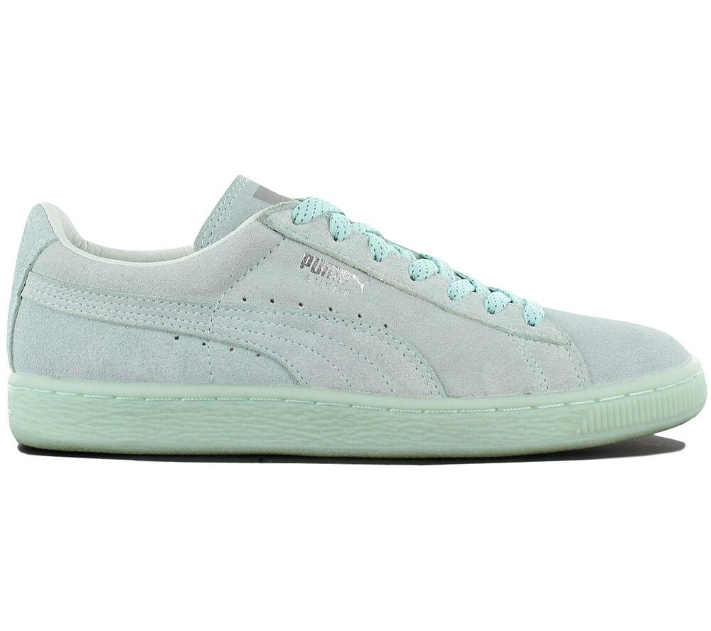 Puma Suede Classic Mono Ref Iced Chaussures Baskets pour Femmes Cuir de Sport
