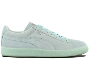 Puma Suede Classic Mono Ref Iced Ladies Sneaker Shoes Leather ... 1b587039e