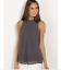 Fashion-Women-Summer-Vest-Top-Sleeveless-Chiffon-Blouse-Casual-Tank-Tops-T-Shirt thumbnail 2