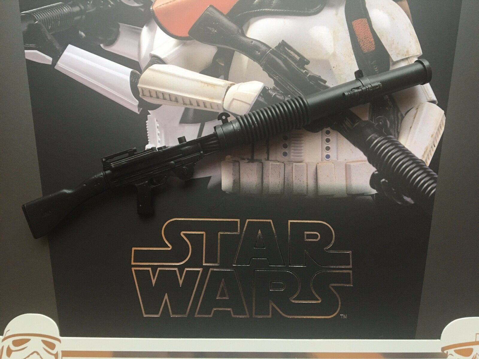 Hot Toys Star Wars Rogue One Imperial Stormtrooper Heavy Blaster Blaster Blaster loose 1 6 scale cf3d04
