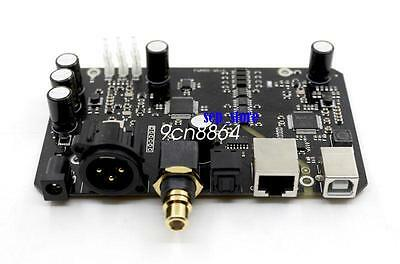 Assembled XU208 XMOS USB Audio Digital Interface XLR/AES/fiber/coaxial   R109
