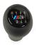 BMW-25117896886-M-Sport-6-Speed-Gearshift-Knob-Black thumbnail 1