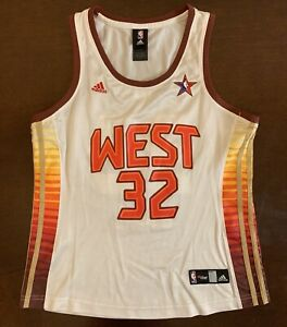 brand new bc6ab 89874 Details about Rare Vintage Adidas NBA 4her 2009 All Star Phoenix Suns  Shaquille O'Neal Jersey