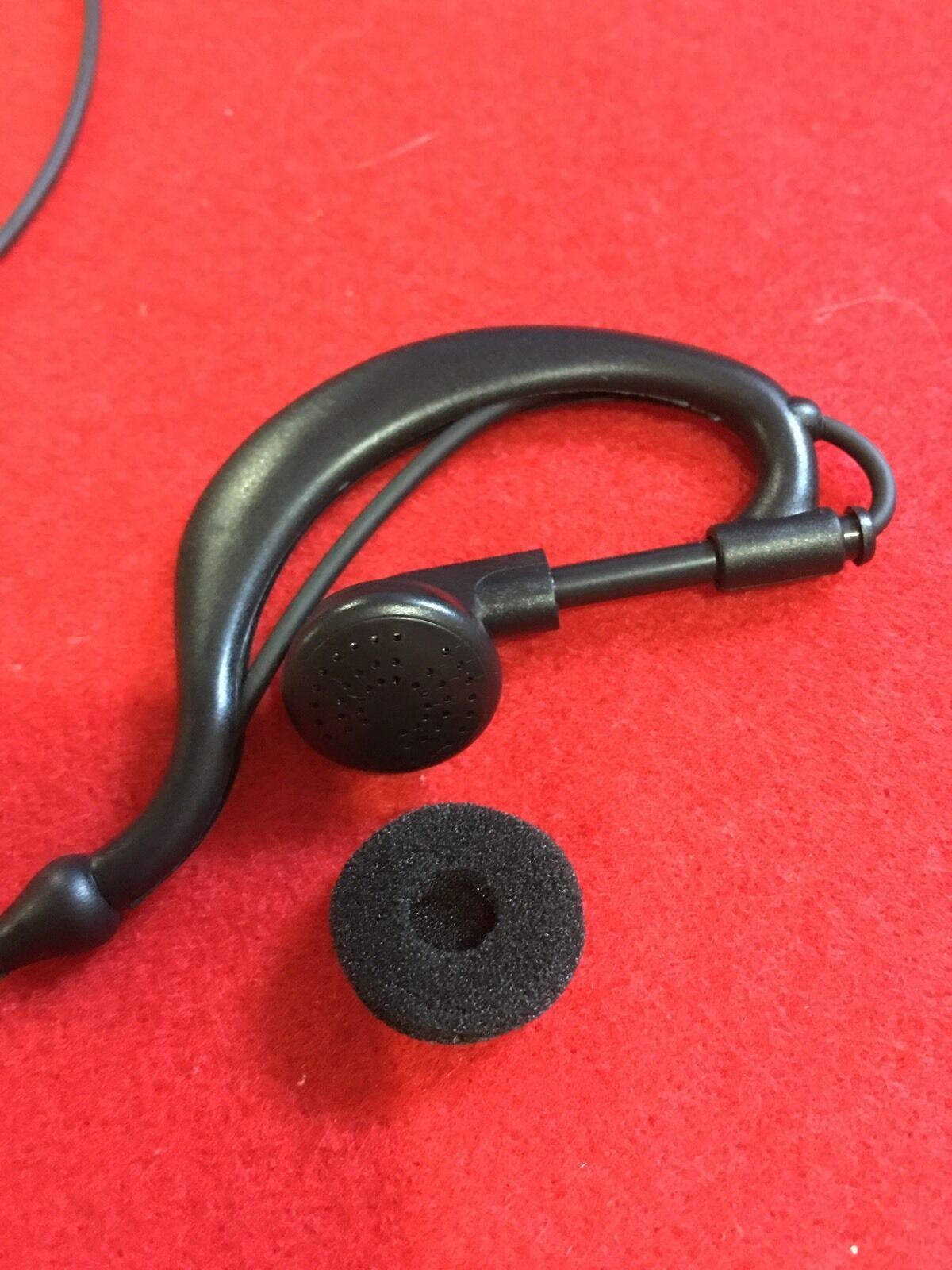 Ear Hook Type Listen Only Headset  UNIDEN HOME PATROL Radio Shack Scanner 3.5mm