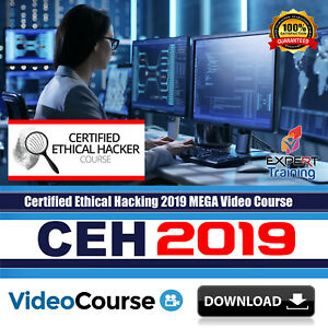 Details about CEH - Certified Ethical Hacking 2019 updated Video Training  Course DOWNLOAD