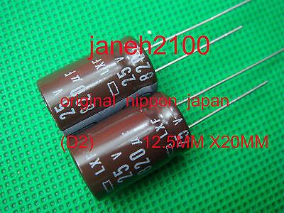 10pcs Nippon Chemi-Con KZH 820uf 25v 105C Radial Electrolytic Capacitor Low ESR