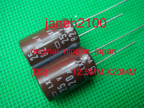 D2 30pcs Nippon Chemi-Con 820uf 25v 105C Radial Electrolytic Capacitor