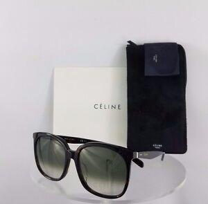 d65776cf72e3 Brand New Authentic Celine CL 41086/F/S Sunglasses Tortoise 086XM ...