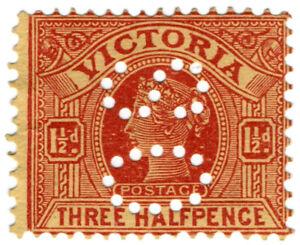 I-B-Australia-Postal-Victoria-1i-d-SG-386-OS-perfin