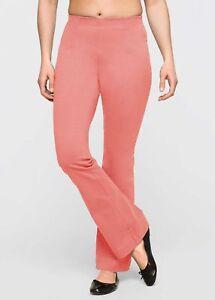 slip pantaloni Bootcut rosa Pantaloni 970481 Bpc Stretch donna elasticizzati Hgpp5q