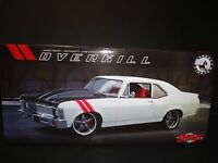 Gmp Chevrolet Nova 1970 Overkill Street Fighter White 1/18 1 Of 852 Units