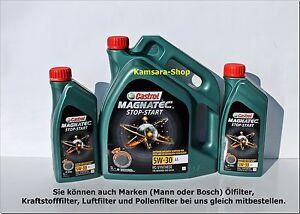 aus berlin motor l castrol magnatec a5 start stop 5w 30. Black Bedroom Furniture Sets. Home Design Ideas