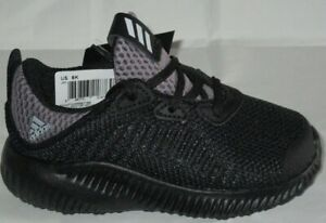 b4c18ee3e BOY S ADIDAS ALPHABOUNCE I BW1188 BLACK BLACK RUNNING SHOES ...