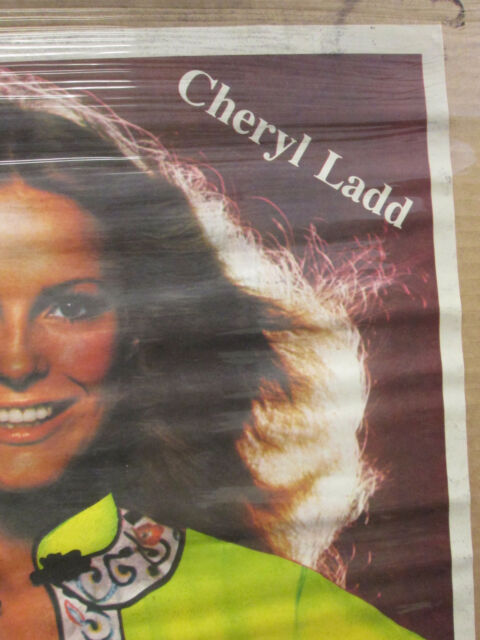 CHERYL TIEGS VINTAGE POSTER BAR GARAGE MAN CAVE 1978 HOT GIRL CNG746