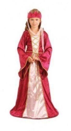 Da Bambina Rinascimento Regina Tudor Medievale Costume