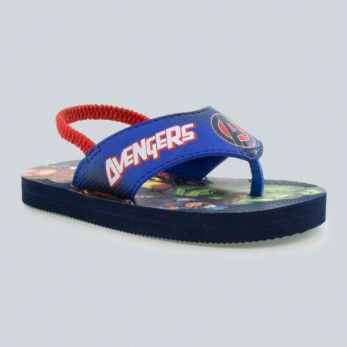 Toddler Boys/' Avengers Flip Flop Sandals Blue
