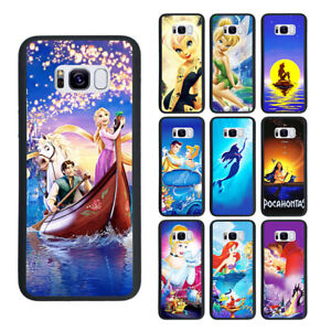 Ariel-Rapunzel-Tinker-Bell-Pocahontas-Phone-Case-Fit-For-Iphone-amp-Samsung