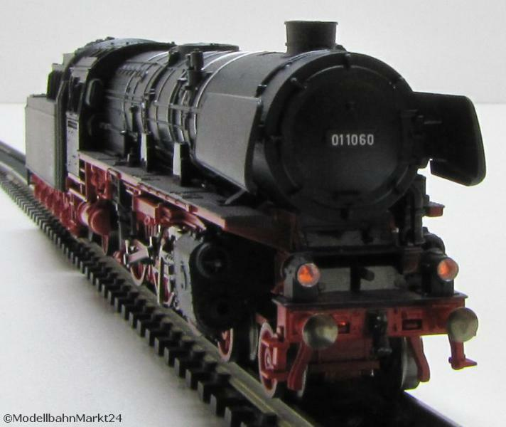 Fleischmann PICCOLO (716901) dB traino Tenderlok 01 1060 DSS EP III Spur N-NUOVO