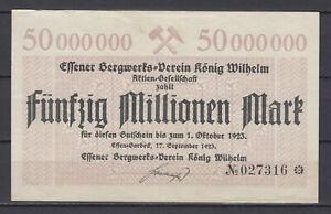 Essen-Borbeck-Bergwerks-Verein-King-Wilhelm-50-Million-Mark