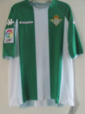 Real Betis 2006-2007 Player ISSUE Home Football Shirt Size Large /39004/39220