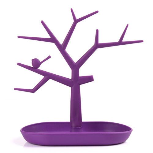 Pendant Necklace Trees Shelf Jewelry Display Holder Stand Organizer