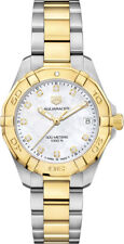 NEW Tag Heuer Aquaracer Ladies Diamond Quartz Watch - WBD1322.BB0320