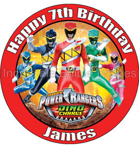 Power-Rangers-Dino-Charge-Personalise-Edible-Cake-Topper-Party-Decoration