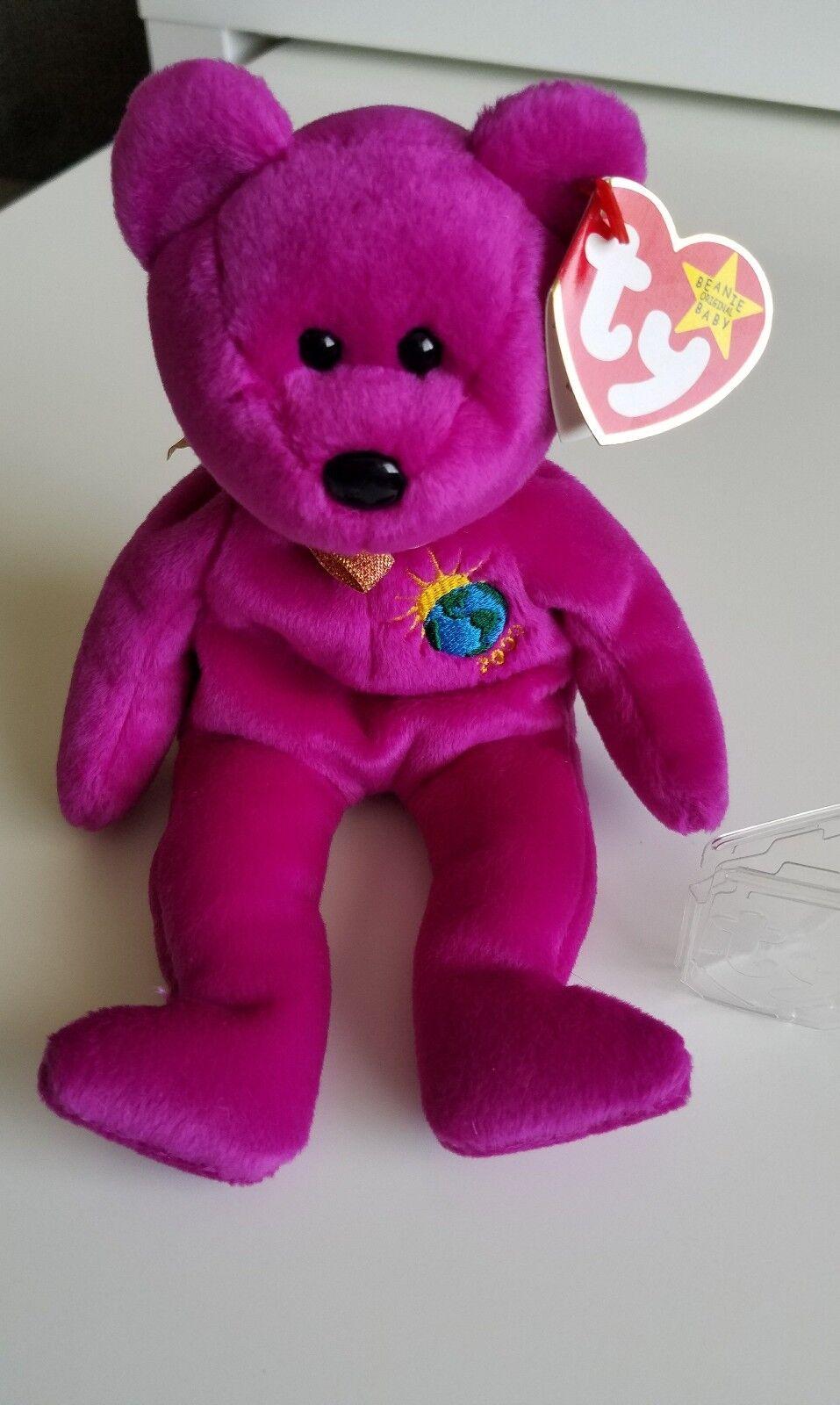 Ty - beanie baby - bär 1999 tag fehler insgesamt 7 fehler zustand