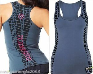 ZUMBA-FITNESS-INSTRUCTOR-RacerBack-Top-Shirt-Tank-Tee-fr-Convention-Rare-S-M-L