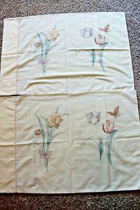 Set-of-2-Vintage-pillowcase-Martex-flowers-standard-20-034-by-30-034