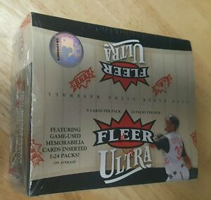 2006-Fleer-Ultra-Baseball-Cards-24-packs-8-cards-per-pack-Game-used-memorabilia