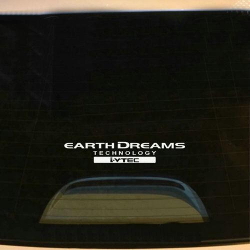 Vinyl Earth Dream i-VTEC Car Decal Sticker Auto Window Decal Emblem For Honda