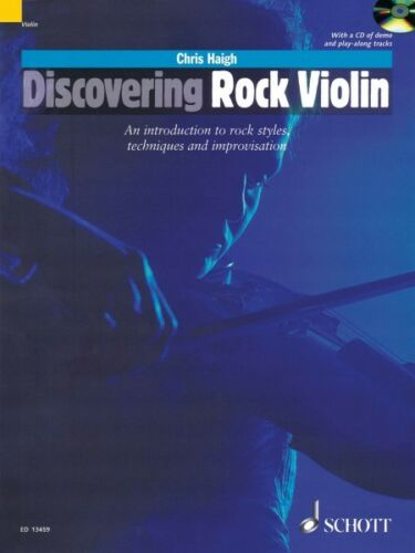 Discovering Rock Violin An Introduction to Rock Style Techniques and I 049019161