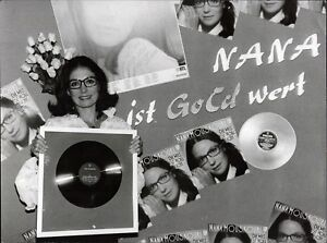 Nana-Mouskouri-Vintage-Photo-de-Presse-Photo-Norbert-Unfried-U-1053